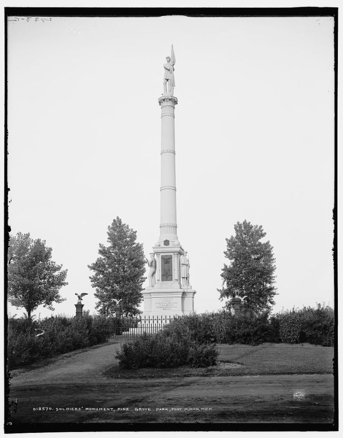 Soldiers Monument - Pine Grove Park